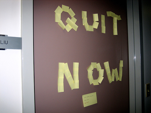 Post image for How to Win Through Quitting