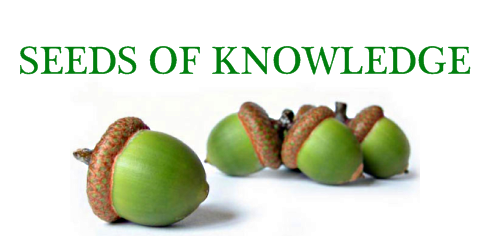 Post image for Seeds of Knowledge 5.21.10