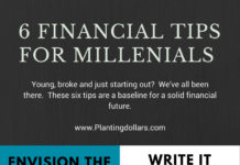6 Financial Tips for Millennials