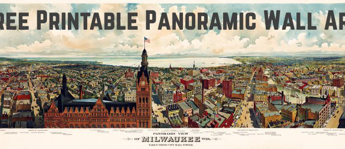 Milwaukee Panoramic Wall Art