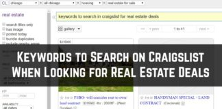 Craigslist Real Estate Deals