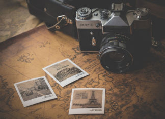 Old Camera Map and Photos